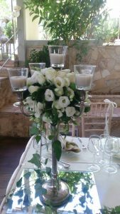 greek island wedding decoration