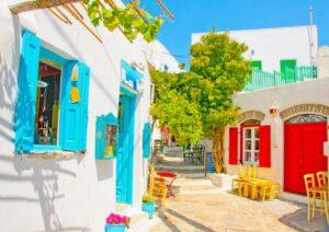 wedding in greece amorgos